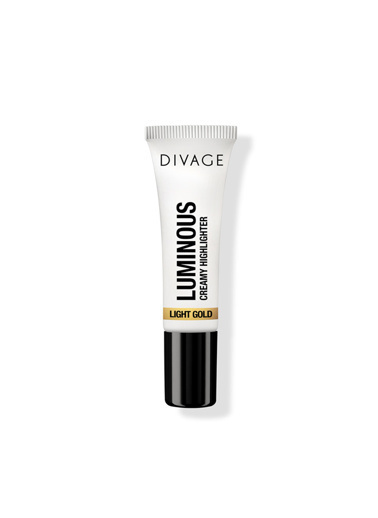 Divage Divage Divage Luminous Creamy Highlighter Light Gold - Krem Aydınlatıcı Renksiz